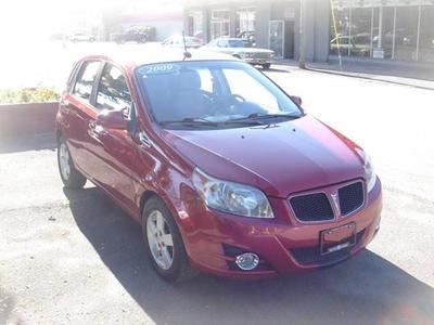 2009 Pontiac G3  for sale VIN: KL2TD66E39B672548