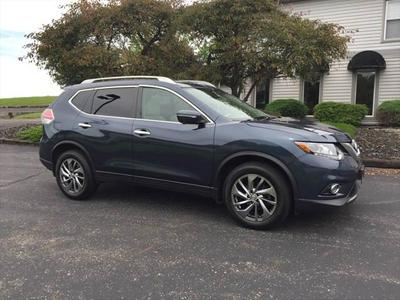 2015 Nissan Rogue SL for sale VIN: 5N1AT2MV9FC882897