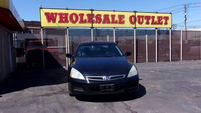 2007 Honda Accord EX-L for sale VIN: 1HGCM66537A075787