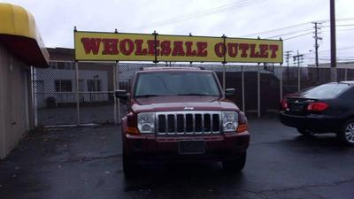 2008 Jeep Commander Sport for sale VIN: 1J8HG48K48C219946
