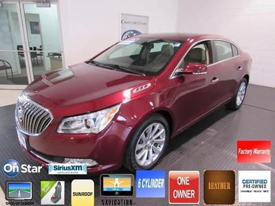 2016 Buick LaCrosse Leather for sale VIN: 1G4GB5G30GF173154