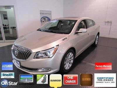 2016 Buick LaCrosse Leather for sale VIN: 1G4GB5G33GF182690