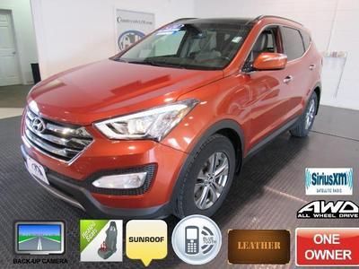 2014 Hyundai Santa Fe Sport 2.4L for sale VIN: 5XYZUDLB1EG138017