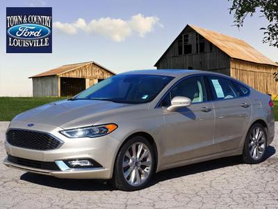 2017 Ford Fusion Titanium for sale VIN: 3FA6P0K97HR104150