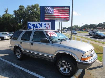 2001 Chevrolet Blazer LT for sale VIN: 1GNCS13W912116405