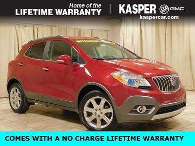 2016 Buick Encore Leather for sale VIN: KL4CJGSB2GB604806