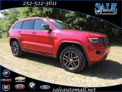 2017 Jeep Grand Cherokee Trailhawk for sale VIN: 1C4RJFLT8HC915086