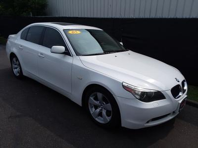 2005 BMW 530 i for sale VIN: WBANA73545B819296