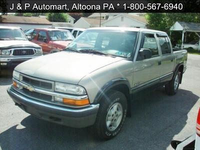 2002 Chevrolet S-10 LS for sale VIN: 1GCDT13W42K107820