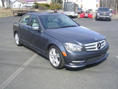 2011 Mercedes-Benz C-Class C 300 for sale VIN: WDDGF8BB2BR153896