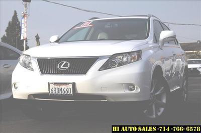 2011 Lexus RX 350  for sale VIN: 2T2ZK1BA3BC042308
