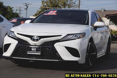 2018 Toyota Camry XSE for sale VIN: 4T1BZ1HK2JU008665