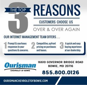 Ourisman Chevrolet of Bowie - Curbside Pick Up and Home Delivery Available Image 2