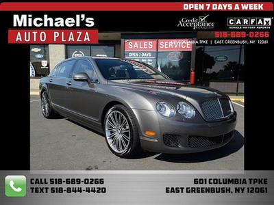 2011 Bentley Continental Flying Spur Speed for sale VIN: SCBBP9ZA5BC067752