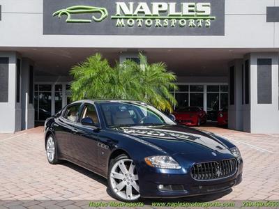 2009 Maserati Quattroporte  for sale VIN: ZAMFK39A590043842
