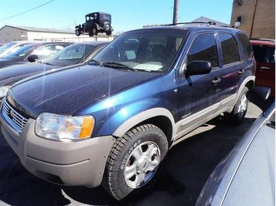 2002 Ford Escape XLT for sale VIN: 1FMCU04132KA05524