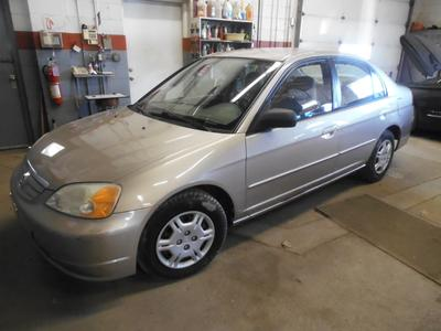 2002 Honda Civic LX for sale VIN: 1HGES16592L019593
