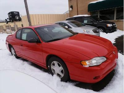 2002 Chevrolet Monte Carlo SS for sale VIN: 2G1WX15K229259029