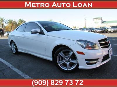Mercedes-Benz C-Class 2014 for Sale in Fontana, CA