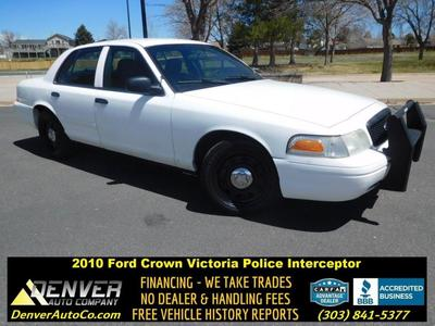 2010 Ford Crown Victoria Police Interceptor image