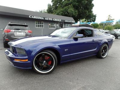 2005 Ford Mustang GT for sale VIN: 1ZVHT82H455241594