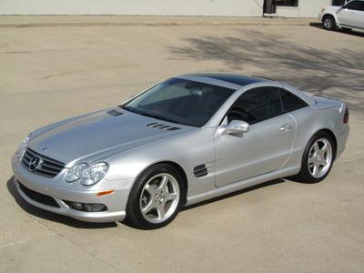 2003 Mercedes-Benz SL-Class SL500 Roadster for sale VIN: WDBSK75FX3F035802
