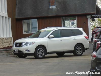 2015 Nissan Pathfinder SV for sale VIN: 5N1AR2MM1FC701507