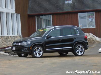 2016 Volkswagen Tiguan R-Line for sale VIN: WVGBV7AX8GW057676