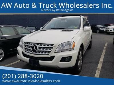2010 Mercedes-Benz M-Class ML 350 4MATIC for sale VIN: 4JGBB8GB6AA580287