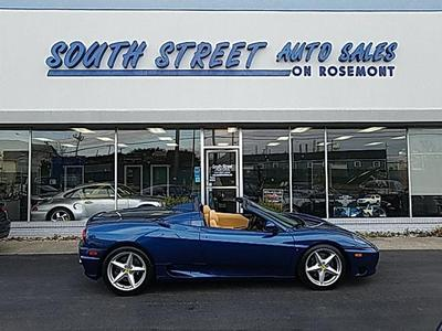 2002 Ferrari 360 Spider F1 for sale VIN: ZFFYT53A220128731