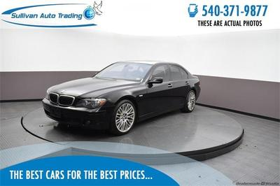 BMW 750 2007 for Sale in Fredericksburg, VA