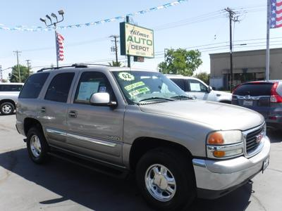 2002 GMC Yukon SLT for sale VIN: 1GKEC13T82R142205