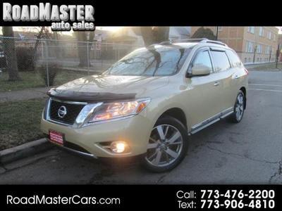 2013 Nissan Pathfinder Platinum for sale VIN: 5N1AR2MM6DC628275