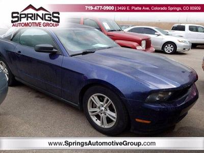 Ford Mustang 2012 for Sale in Colorado Springs, CO