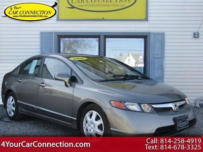2006 Honda Civic LX for sale VIN: 1HGFA16546L070674