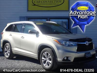 Toyota Highlander 2015 for Sale in Cranberry, PA