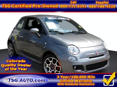 Fiat 500 2012 for Sale in Parker, CO