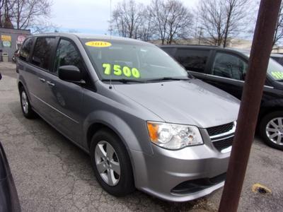 2013 Dodge Grand Caravan SE for sale VIN: 2C4RDGBG4DR791966