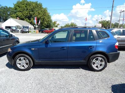 2005 BMW X3 3.0i for sale VIN: WBXPA93405WD01957