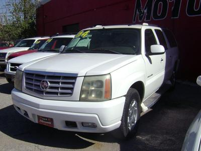 2004 Cadillac Escalade ESV Platinum Edition for sale VIN: 3GYFK66N24G238132
