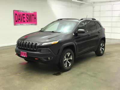2015 Jeep Cherokee Trailhawk for sale VIN: 1C4PJMBS4FW705343