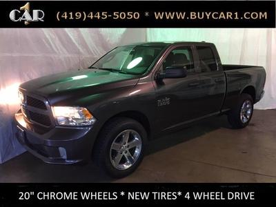 2017 Ram 1500 Tradesman Express >> Used 2017 Ram 1500 Tradesman Express Crew Cab Pickup In Archbold Oh Auto Com 1c6rr7fg9hs631590