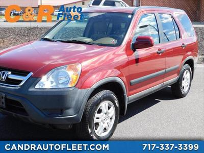 2004 Honda CR-V EX for sale VIN: SHSRD78884U233882