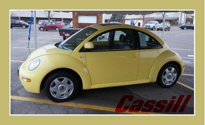 2000 Volkswagen New Beetle GLX for sale VIN: 3VWDD21C7YM441981