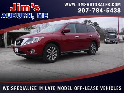 2015 Nissan Pathfinder SV for sale VIN: 5N1AR2MM1FC675667