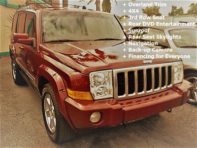 2007 Jeep Commander Overland for sale VIN: 1J8HG68217C576785