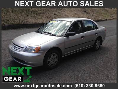 2001 Honda Civic DX for sale VIN: 2HGES152X1H619669