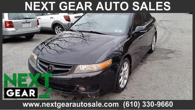 2006 Acura TSX  for sale VIN: JH4CL96986C017505