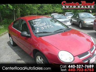 2004 Dodge Neon SXT for sale VIN: 1B3ES56C74D643346