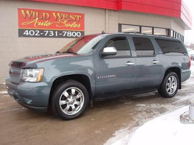 2008 Chevrolet Suburban 1500 LTZ for sale VIN: 1GNFK16328J145825